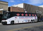 The GOP Party Bus made a stop in Sheridan Monday.